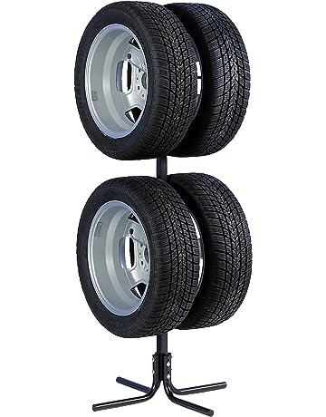 Unitec 10905 - Soporte para neumáticos y llantas (para 4 ruedas de 10-43