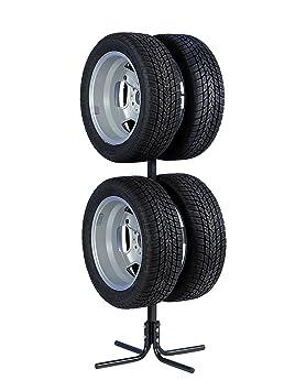 Unitec 10905 - Soporte para neumáticos y llantas (para 4 ruedas de 10-43,2 cm): Amazon.es: Coche y moto
