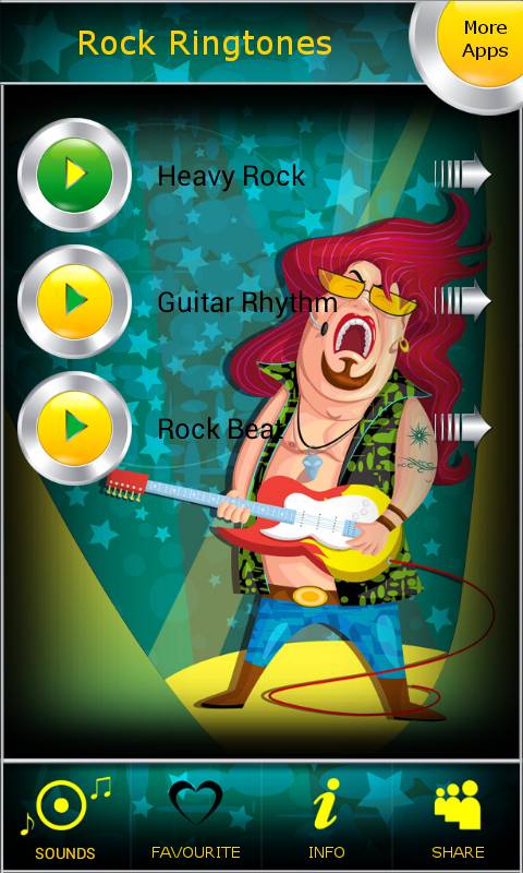 Amazon Com Rock Ringtones Appstore For Android