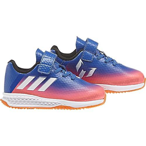 adidas Rapidaturf Messi El I, Zapatillas Unisex Niños, (Azul/ftwbla/Narsol), 27 EU: Amazon.es: Zapatos y complementos
