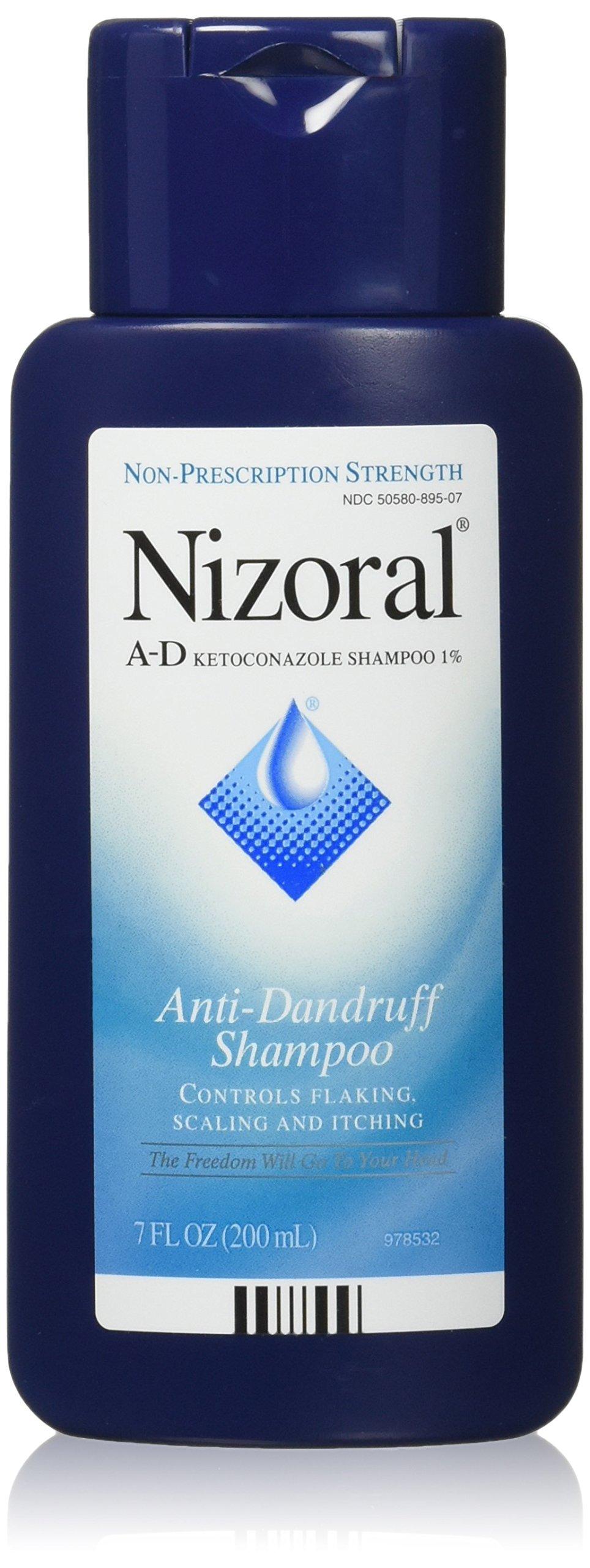 Nizoral A-D Anti-Dandruff Shampoo, 7.0 oz