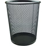 Circular Mesh Bin (Black)