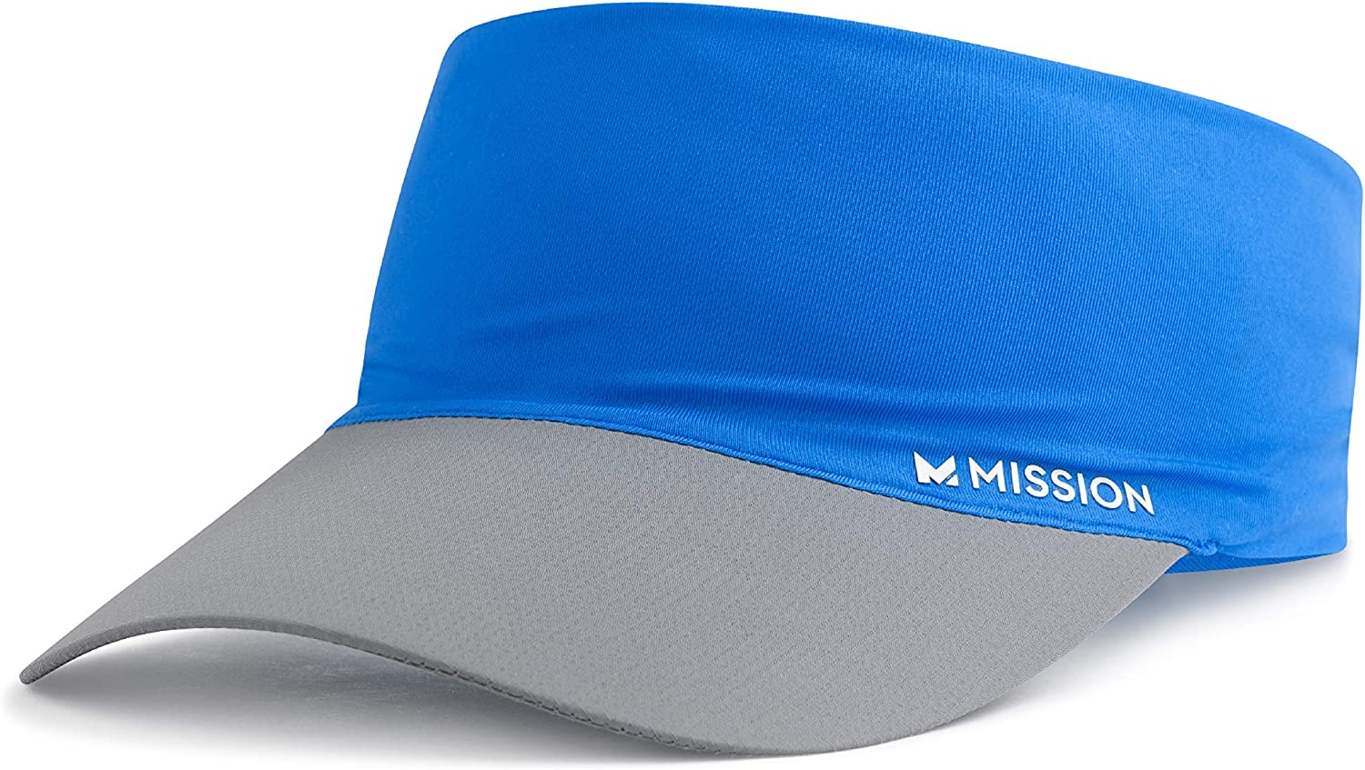 MISSION Cooling Stretchy Visor- Lightweight, No Slip Band, UPF 50