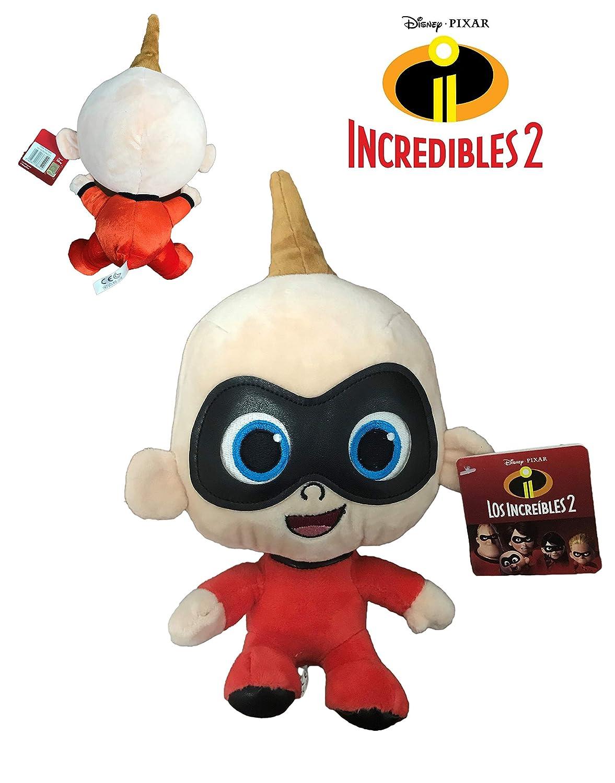 Los Increibles - Peluche Jack Jack bebe 25cm Calidad super soft: Amazon.es: Juguetes y juegos