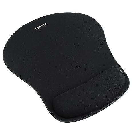 tapis de souris tecknet confort avec repose poignet ergonomique - Tapis Souris