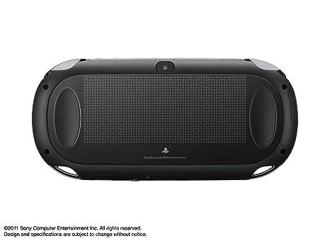 Amazon Com Playstation Vita 3g Wi Fi Model Crystal Black Japan Import Video Games