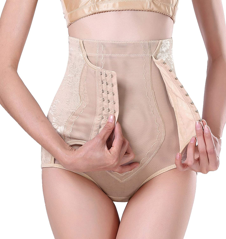 Bafully Hi-Waist Trainer Butt Lifter Tummy Control Panty Body Shaper for Women