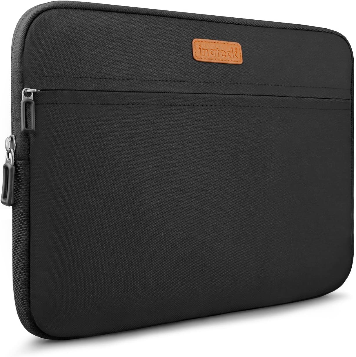 Inateck 15-15.4 Inch Laptop Sleeve Carrying Case Compatible 15'' MacBook Pro 2012-2015/Dell 15''/Ultrabooks/Notebooks Water-repellent Bag - Black
