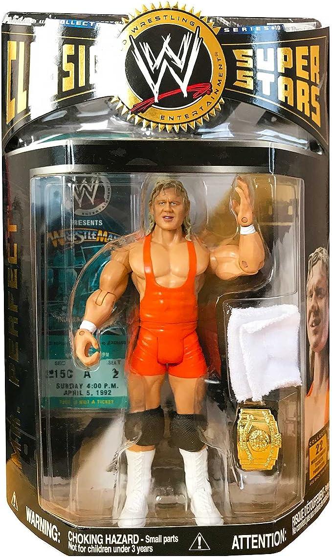 WWE Mattel Personalizado Head-el señor Perfect Curt Hennig figura forraje