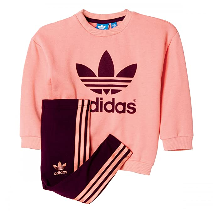 adidas I WA Girls Set - Chándal Unisex, Color Rosa/Morado, Talla ...