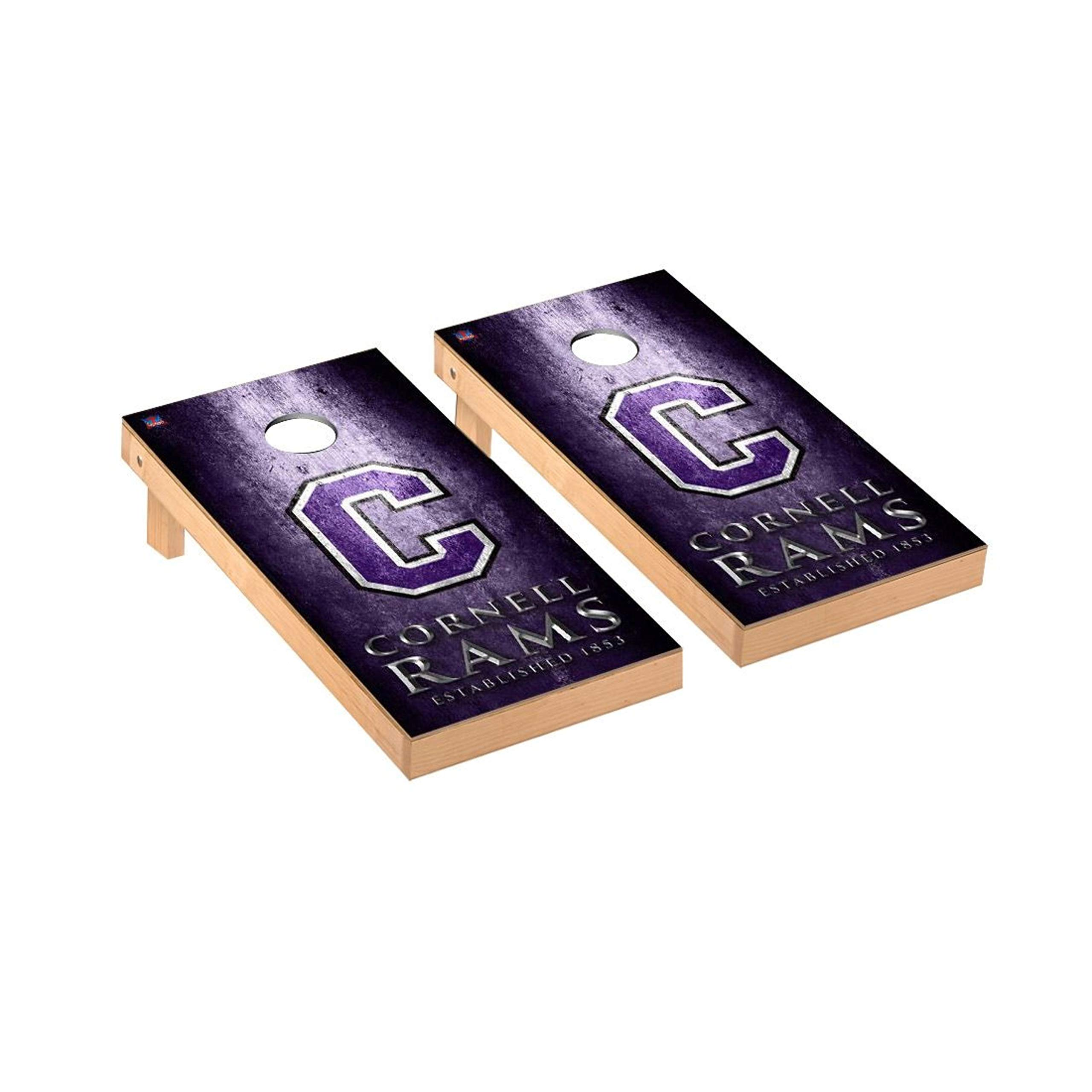 Victory Tailgate Regulation Collegiate NCAA Museum Series Cornhole Board Set - 2 Boards, 8 Bags - Cornell College Rams by Victory Tailgate