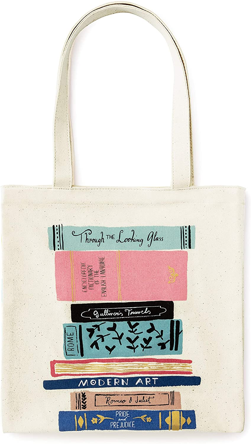 Kate Spade New York Canvas Tote Bag with Interior Pocket