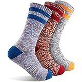 Hiking Walking Socks For Women, FEIDEER Multi-pack Outdoor Recreation Socks Moisture Wicking Crew Socks
