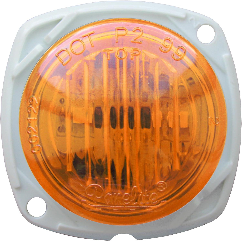 Optronics 00212255P 0012255P Lens 3 Sealed LED Marker//Clearance Light Amber