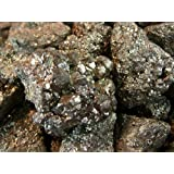 "Fantasia Materials: 1 lb Medium Pyrite ""A"" Grade Rough - 1"" Average Pcs - Raw Natural Fools Gold Crystals for Cabbing, Cutting, Lapidary, Tumbling, Polishing, Wire Wrapping, Wicca & Reiki Healing"
