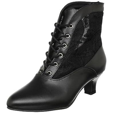 62072951892b7 Amazon.com   Funtasma Womens High Heel Boots 2 Inch Sexy Victorian ...