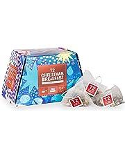 T2 Tea - Christmas Breakfast Black Tea, 25 teabags in Feature Box, 25 Pieces