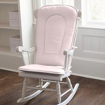 Amazon.com: Carrusel diseños Solid Rosa Mecedora Pad: Baby