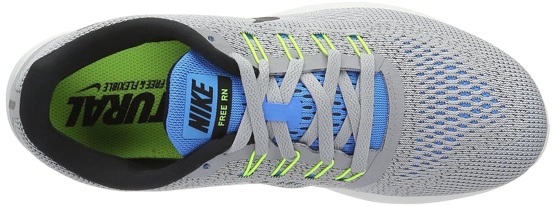 NIKE Men's D(M) Free RN Running Shoe B01CITKC80 9.5 D(M) Men's US|Wolf Grey/Blue Glow/Volt/Black ecdcee