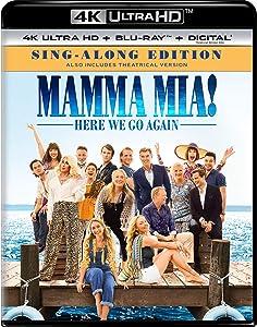 Mamma Mia! Here We Go Again Sing-Along Edition 4K Ultra HD + Blu-ray + Digital