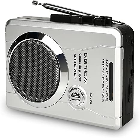AM//FM Radio and Voice Audio Cassette Recorder Personal Audio Walkman Player