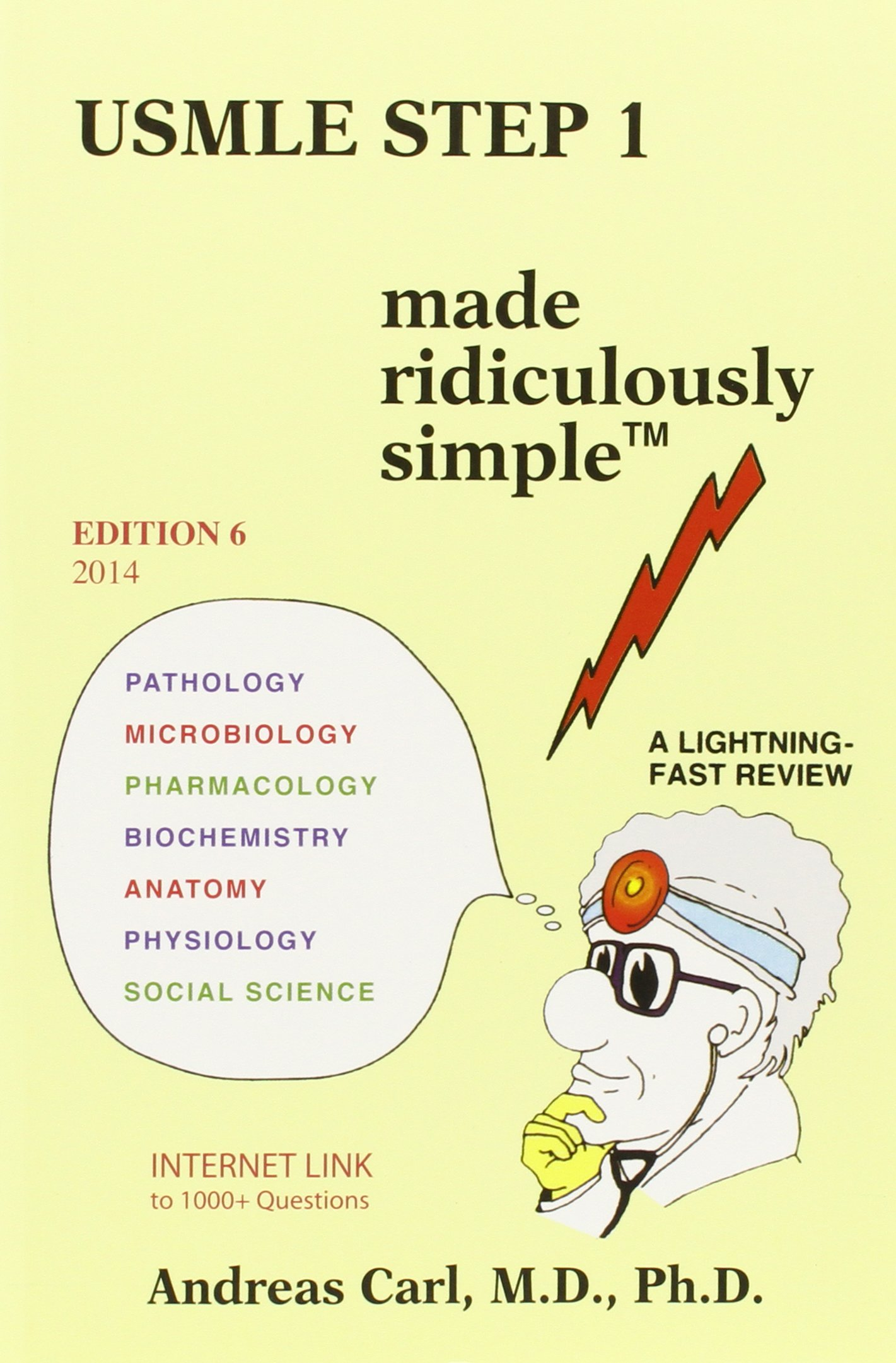Buy USMLE Step 1 Made Ridiculously Simple Book Online at Low Prices ...