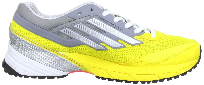 adidas Adizero Sonic 4 - Zapatillas de correr de material sintético mujer, color amarillo, talla 43 1/3