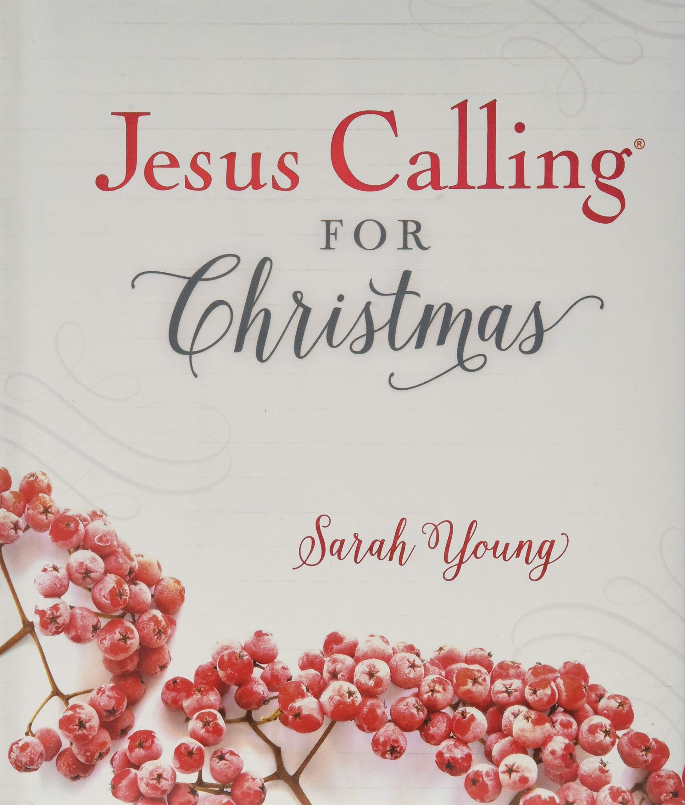 Jesus Calling for Christmas: Sarah Young: 9781400309184: Amazon.com ...