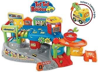 VTech-80-512722 Garaje Multitaller Tut Bólidos, Color Verde (3480-512722