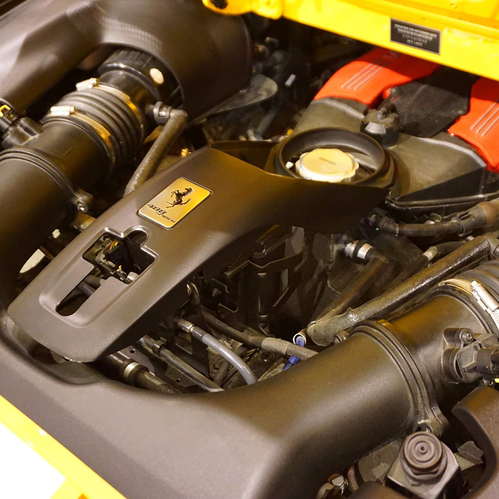 自動車 Ipad壁紙 フェラーリ 4 Spider N Largo エンジンルーム その他 スマホ用画像