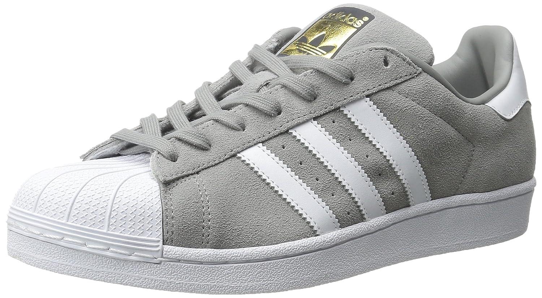 Superstar Suede Shoe Solid Grey