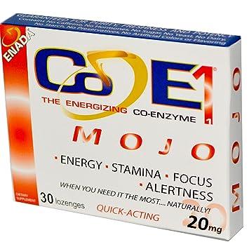 Amazon.com: La Energizing Co-enzyme, Mojo, 20 mg, 30 ...