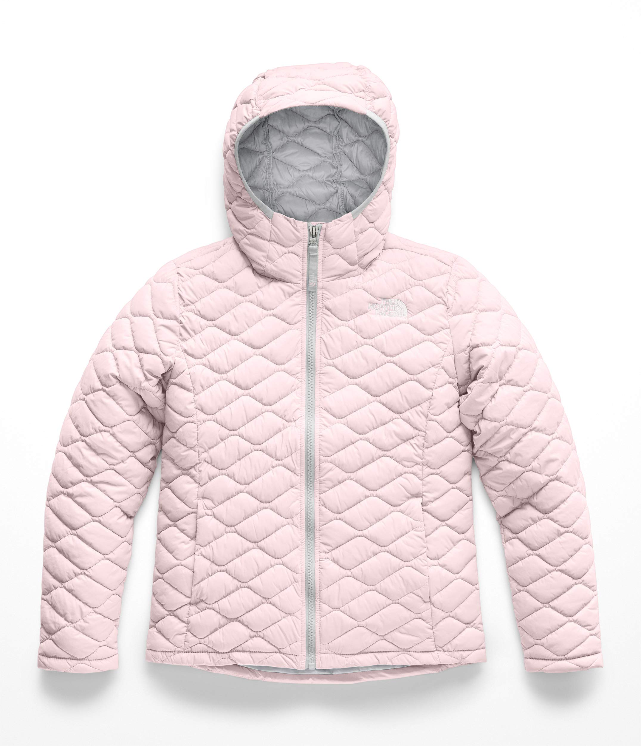 The North Face Girl's Thermoball Hoodie - Purdy Pink - L