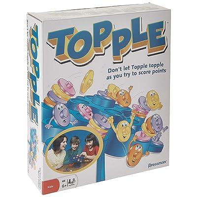 Pressman Toy - Original Topple Board Game: Toys & Games