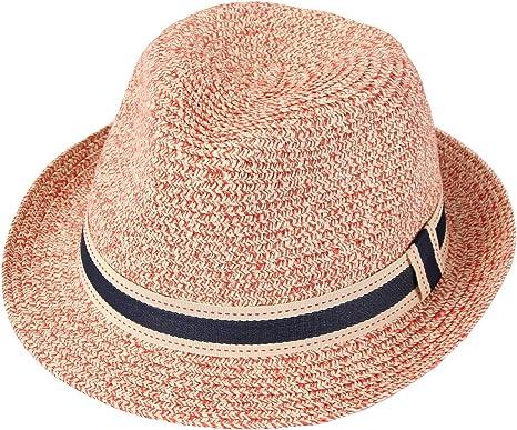 Gro/ße Krempe Panama Strohhut faltbar Strand Sonnenh/üt Taylormia Damen UPF 50