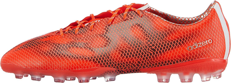 adidas F50 Adizero AG, Scarpe da Calcio Uomo RossoBianco