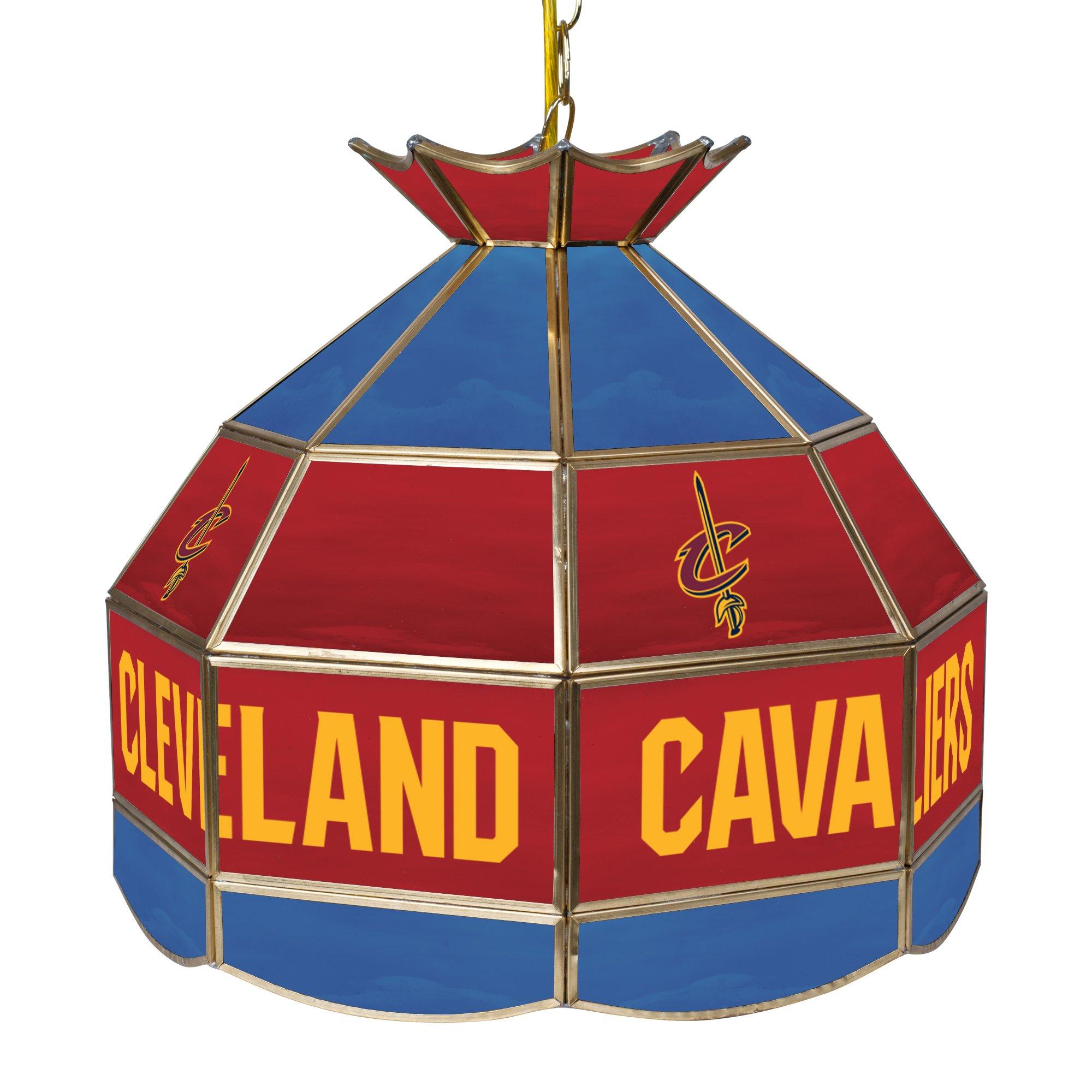 NBA Cleveland Cavaliers Tiffany Gameroom Lamp, 16'' by Trademark Gameroom