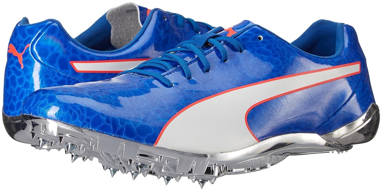 PUMA Men's Evospeed Electric 6 Track Shoes, Lapis Blue White
