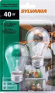 Sylvania Home Lighting 10036 10117 Incandescent Bulb, 12.9