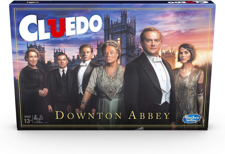 Hasbro- Cluedo Edition Juego de Mesa para niños a Partir de 13 años, Inspirado en Downton Abbey, Color Nailon/a. (E8626)