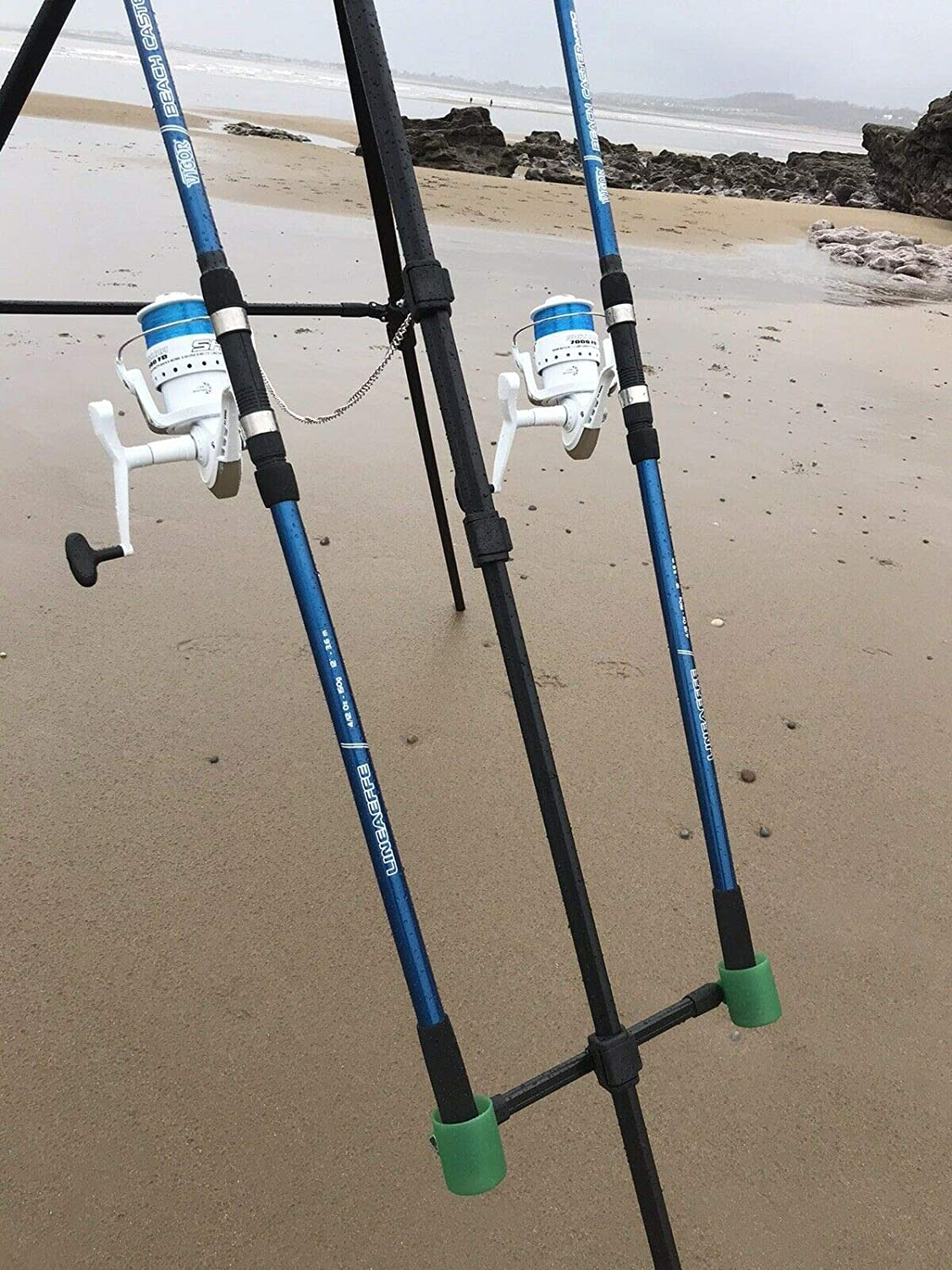 BRAND NEW Deluxe Sea//Beach Fishing Reel And Line x 2