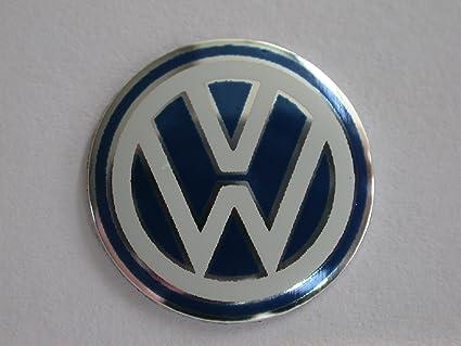 1 x AZUL VW VOLKSWAGEN LLAVERO DE COCHE DE SUSTITUCIÓN ...