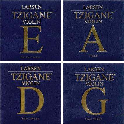 Larsen Tzigane Violin E String 4//4 Ball End Medium