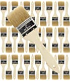 36 Pack of Single X Thick Paint and Chip Paint Brushes for Paint, Stains, Varnishes, Glues, Acrylics and Gesso. (2 inch)