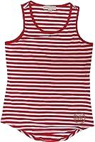 Michael Kors Womens MacIntosh Tank Top Red/White Striped