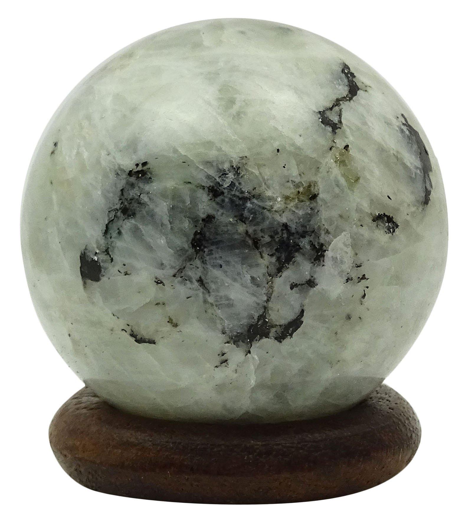HARMONIZE Rainbow Moonstone Sphere Ball Art Reiki Healing Stone Balancing Table Decor