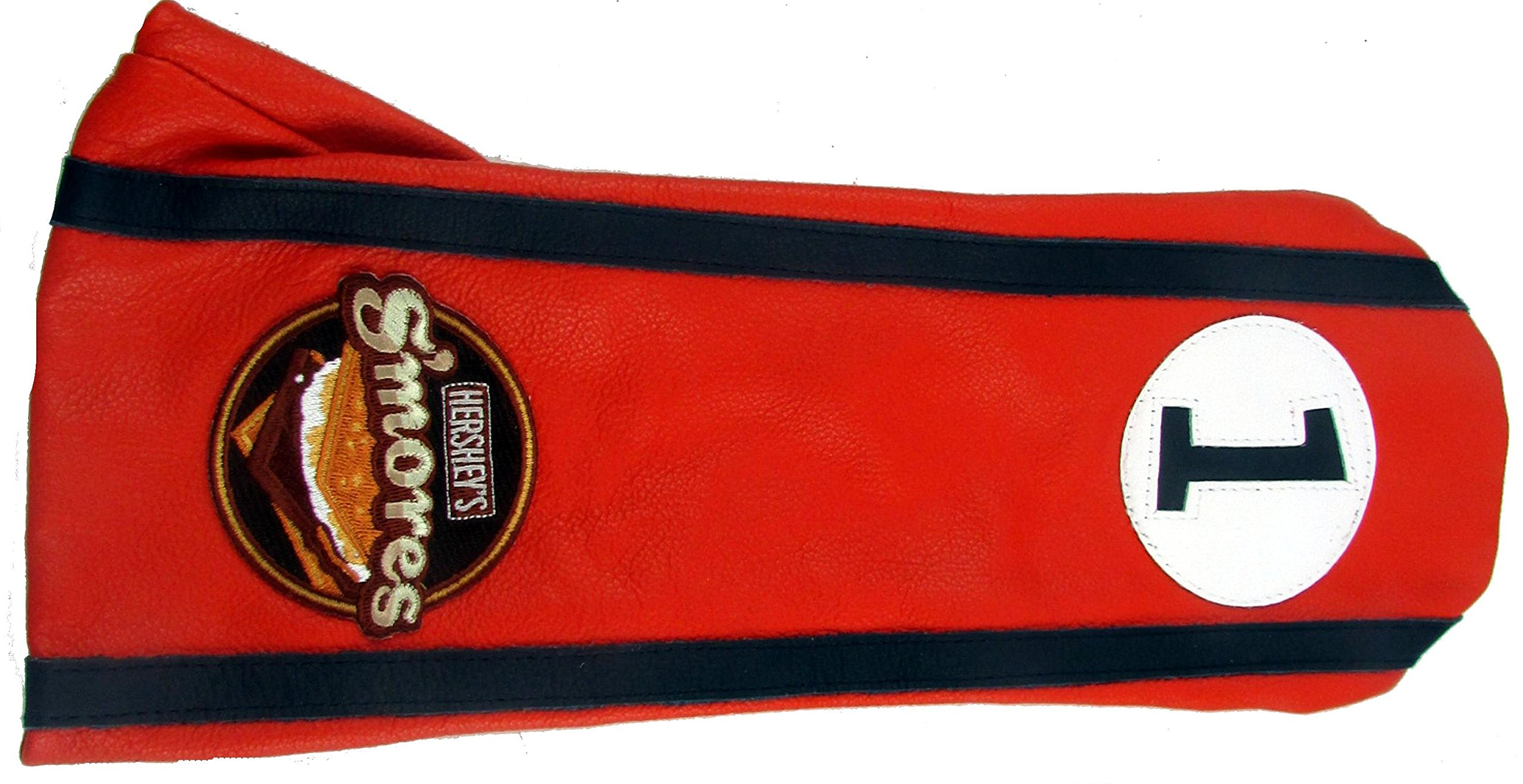 Stitch Golf Club Leather Driver Headcover HERSHEY'S SMORES Orange Blue Black