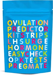 PREGMATE 30 Ovulation Test Strips Predictor Kit Flexible Pack