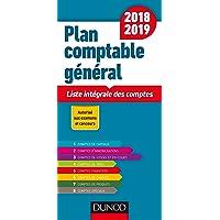Plan comptable général 2018/2019-19e éd. - Liste intégrale des comptes