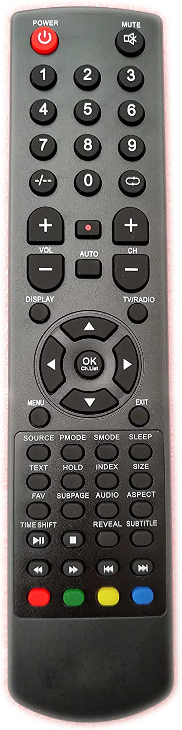Universal Replacement Remote Control Fit for AKAI TV Small